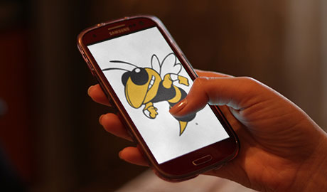 Buzz on a phone