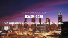 International Conference on Web and Social Media (ICWSM 2020)