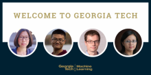 ML@GT welcomes new faculty hires this fall.